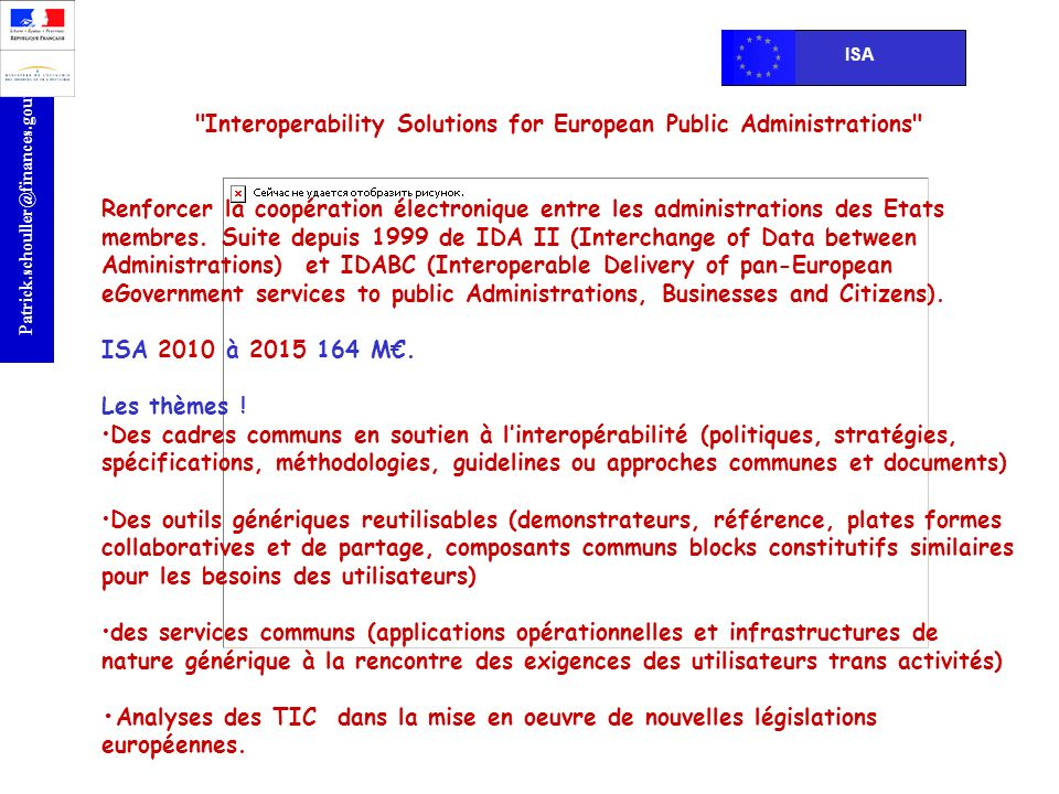 Interoperability Solutions for European Public Administrations