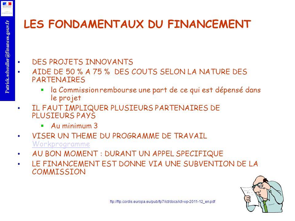 LES FONDAMENTAUX DU FINANCEMENT