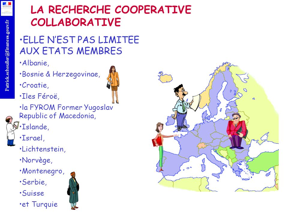 LA RECHERCHE COOPERATIVE COLLABORATIVE