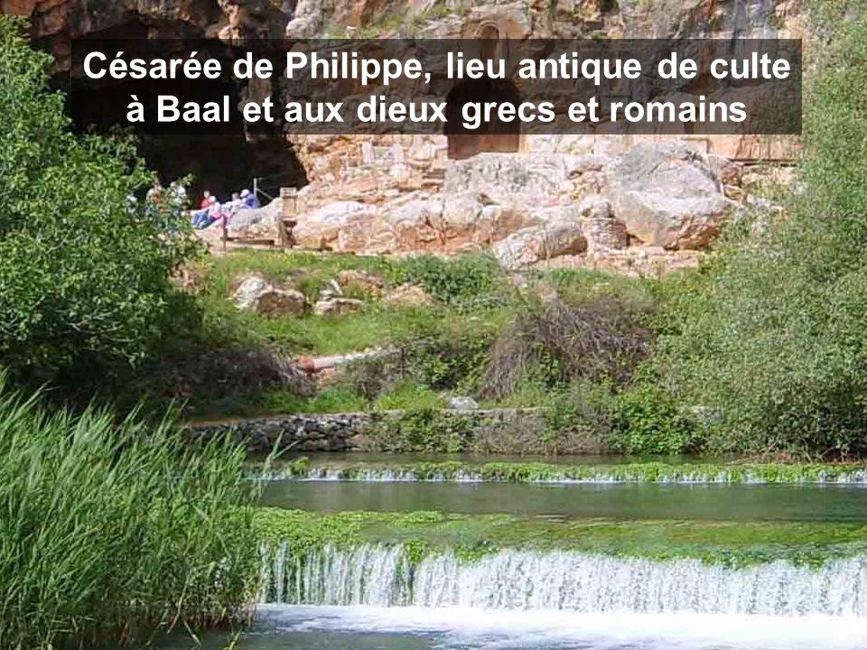 Césarée de Philippe, lieu antique de culte à Baal et aux dieux grecs et romains