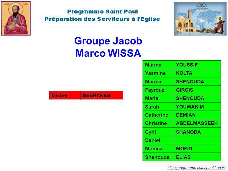 Groupe Jacob Marco WISSA