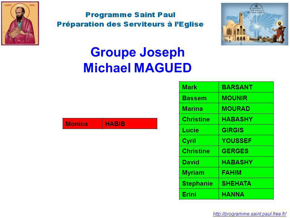 Groupe Joseph Michael MAGUED