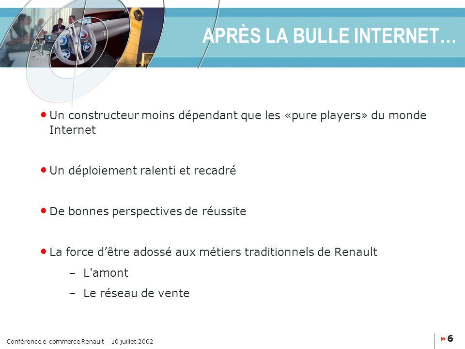 APRÈS LA BULLE INTERNET…