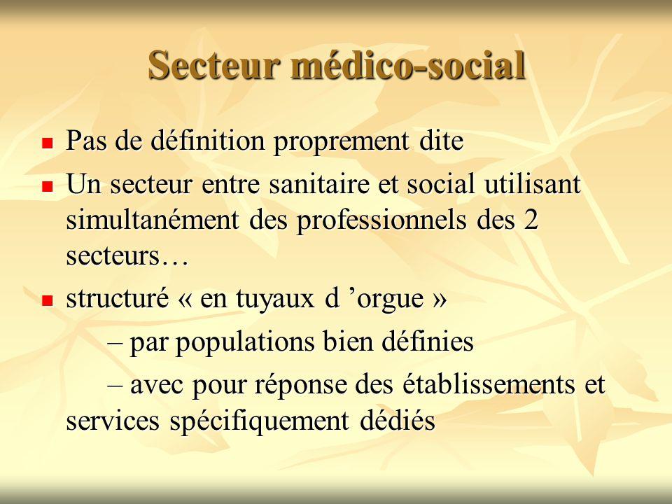 Secteur médico-social
