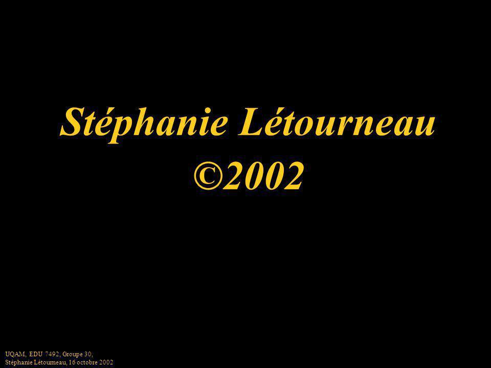 Stéphanie Létourneau ©2002