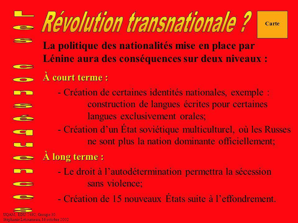 Révolution transnationale