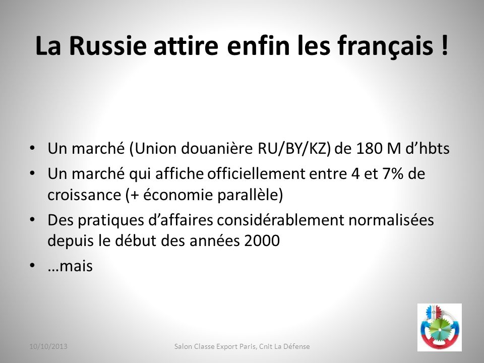 La Russie attire enfin les français !