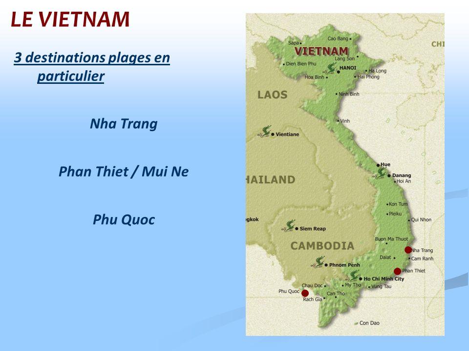 LE VIETNAM 3 destinations plages en particulier Nha Trang