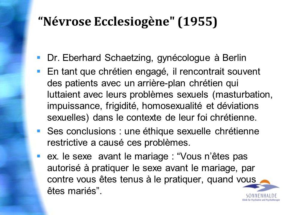 Névrose Ecclesiogène (1955)