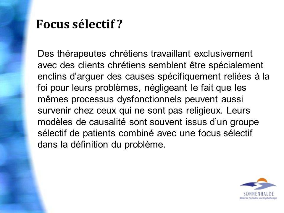 Focus sélectif