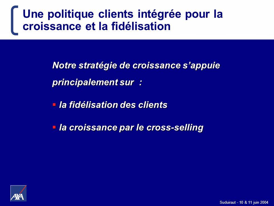 Une politique clients intégrée pour la croissance et la fidélisation