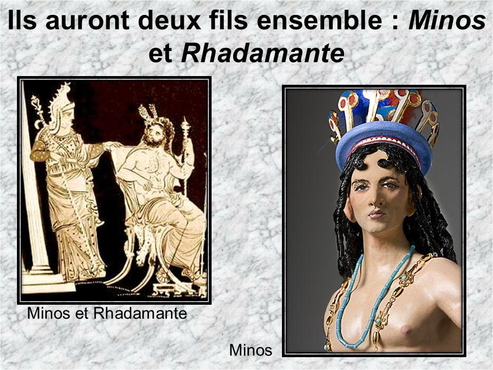 Ils auront deux fils ensemble : Minos et Rhadamante