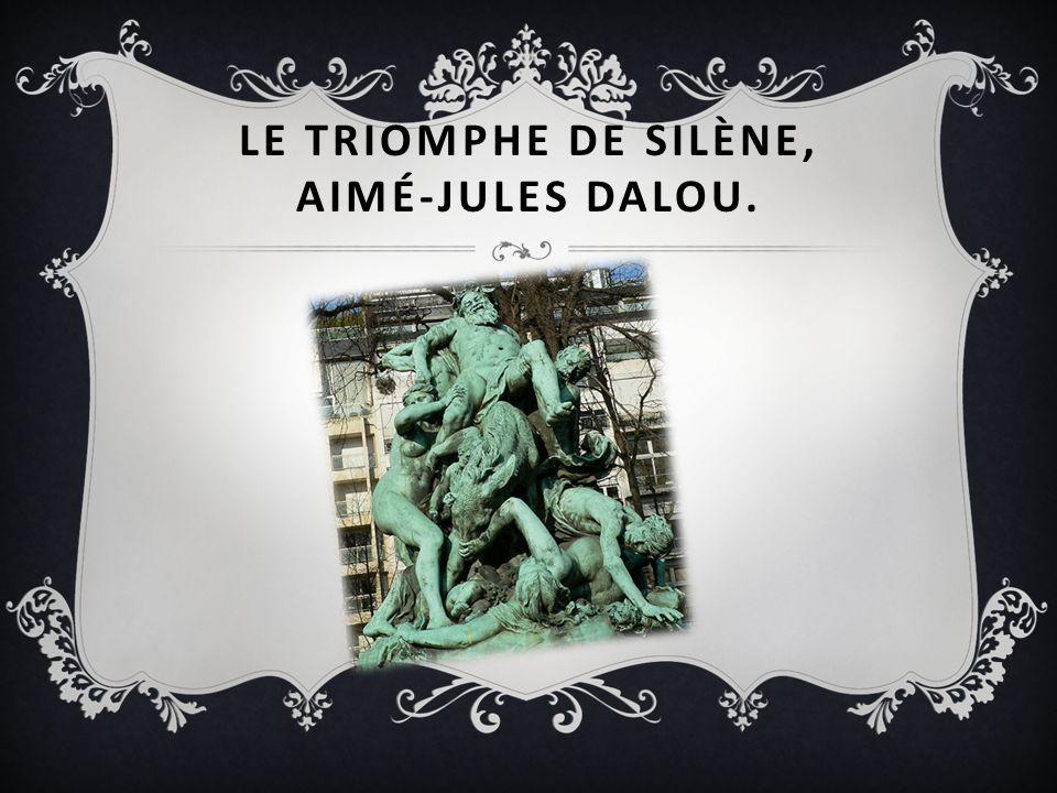 Le triomphe de Silène, Aimé-Jules Dalou.
