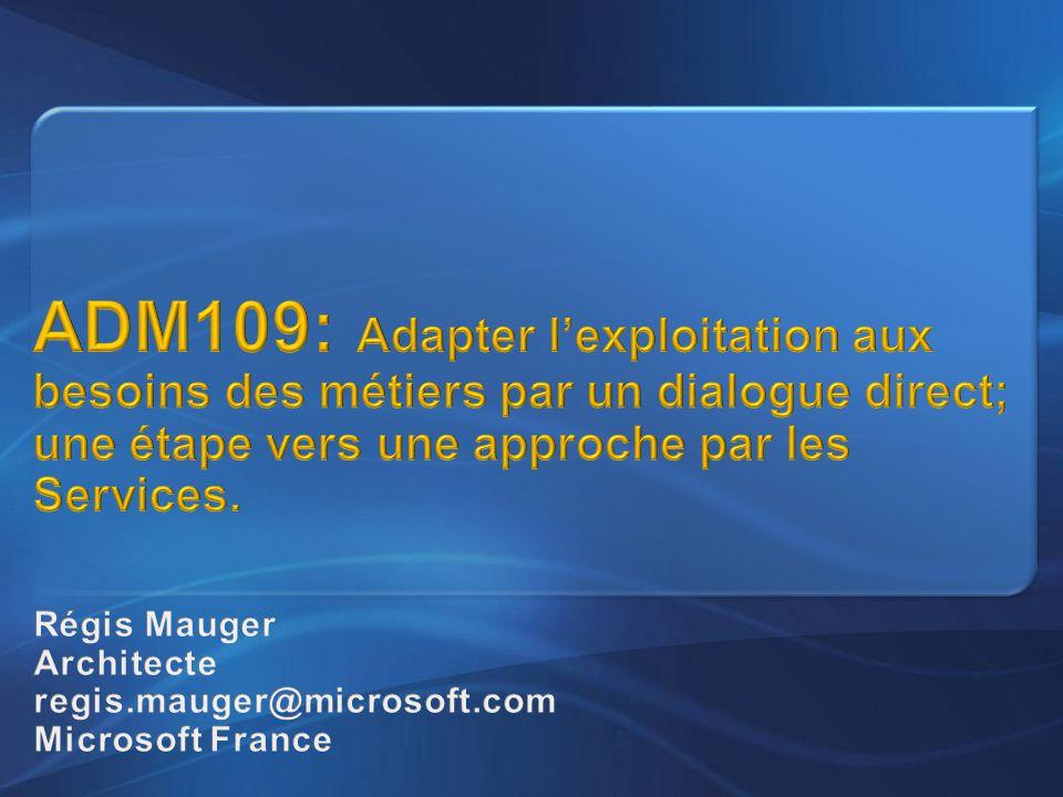 Régis Mauger Architecte regis.mauger@microsoft.com Microsoft France