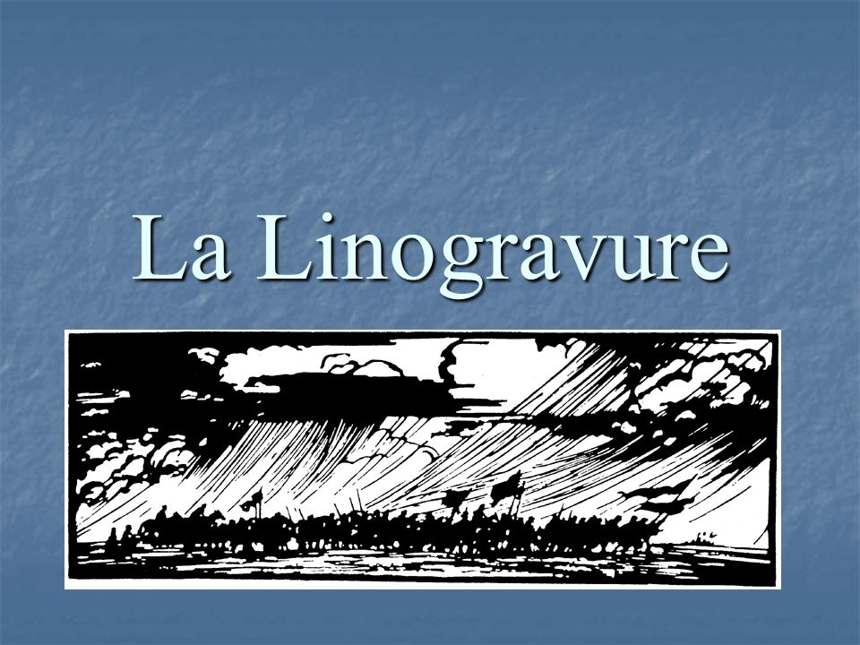 La Linogravure