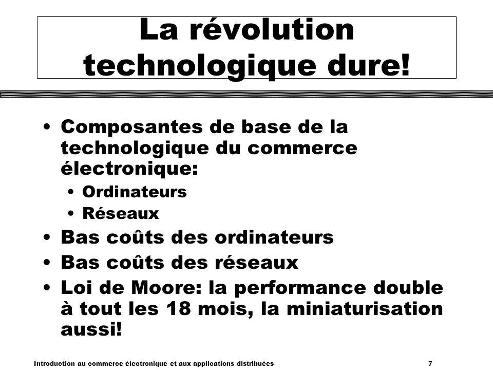 La révolution technologique dure!
