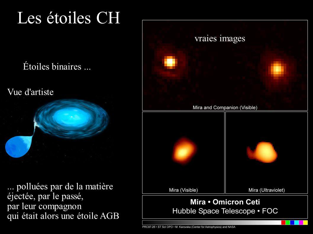 Les étoiles CH vraies images Étoiles binaires ... Vue d artiste