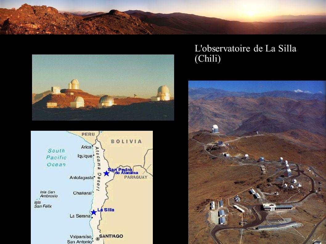 L observatoire de La Silla (Chili)