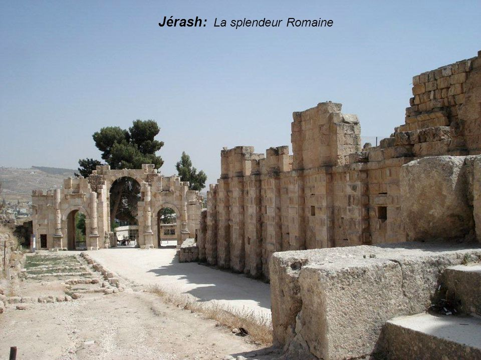 Jérash: La splendeur Romaine