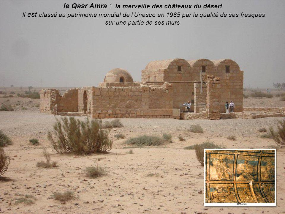 le Qasr Amra : la merveille des châteaux du désert