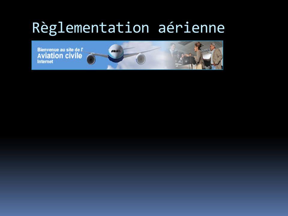 Règlementation aérienne