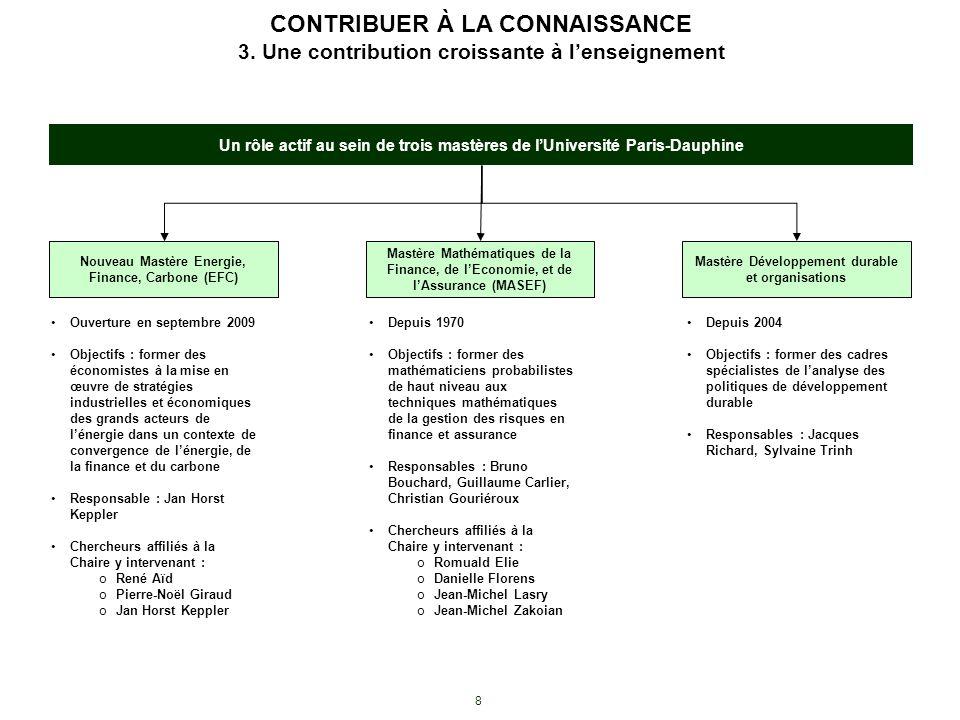 CONTRIBUER À LA CONNAISSANCE 3