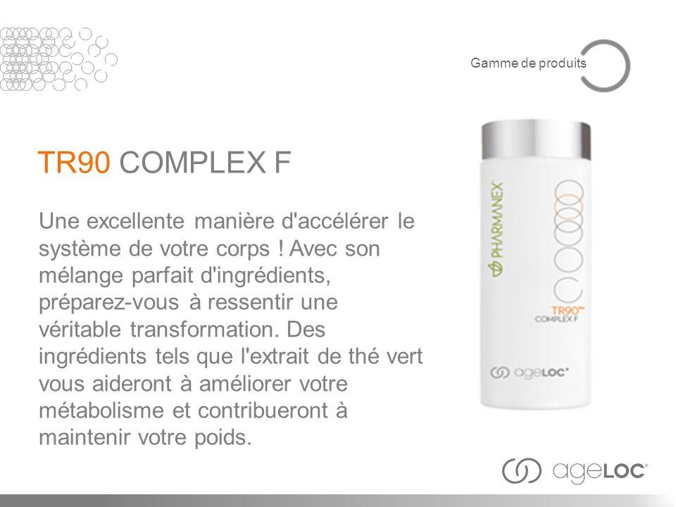 Gamme de produits TR90 COMPLEX F.