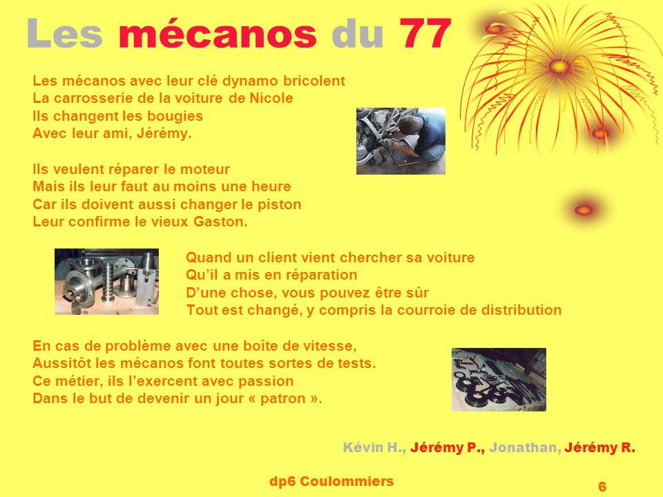Les mécanos du 77 Les mécanos avec leur clé dynamo bricolent