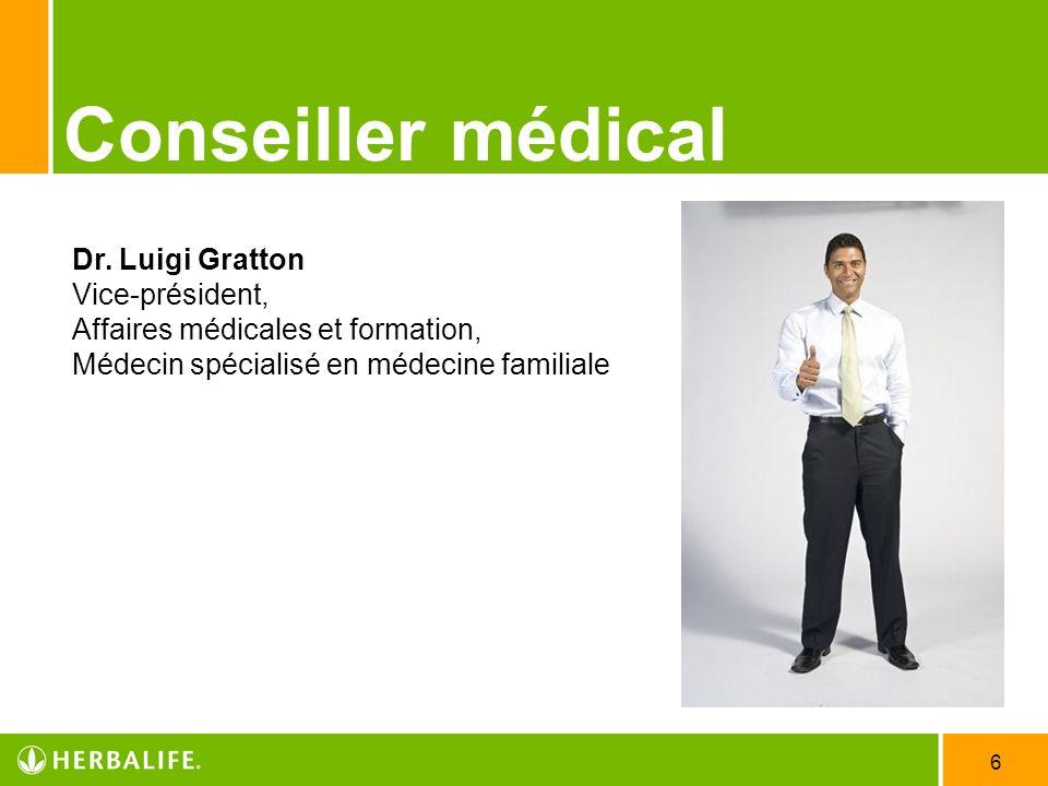 Conseiller médicalDr.