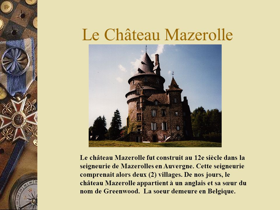 Le Château Mazerolle