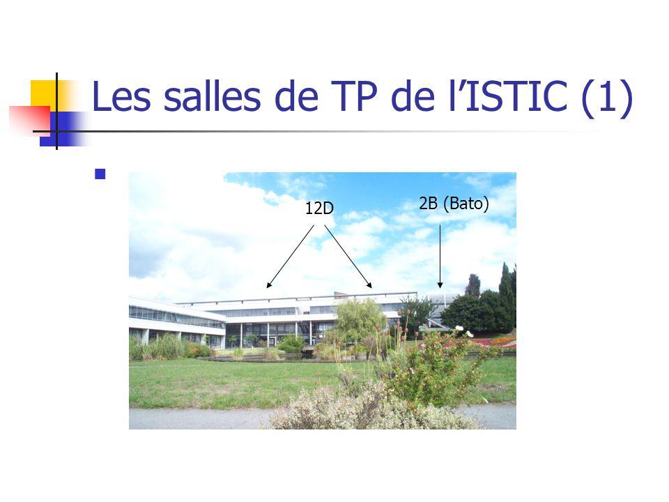 Les salles de TP de l'ISTIC (1)