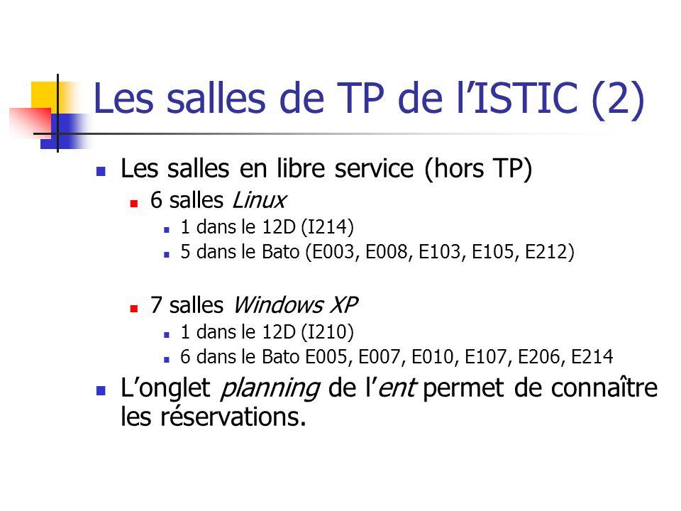 Les salles de TP de l'ISTIC (2)