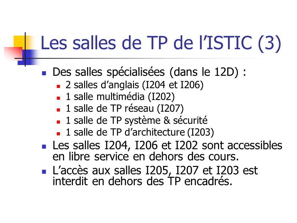 Les salles de TP de l'ISTIC (3)