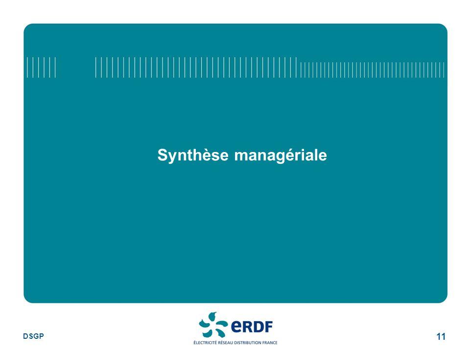 Synthèse managériale DSGP