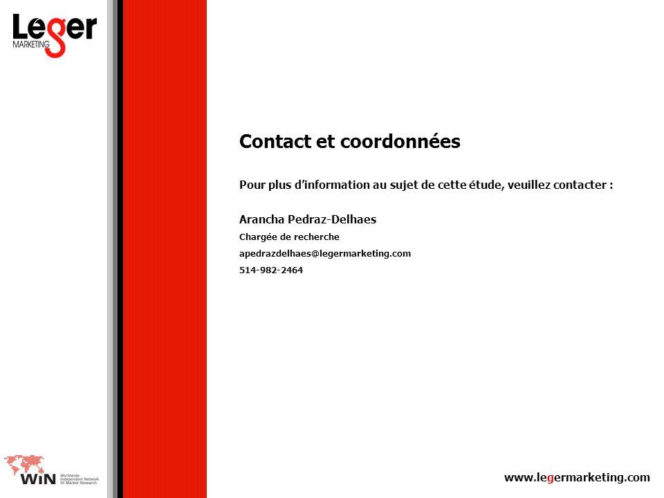 Contact et coordonnées