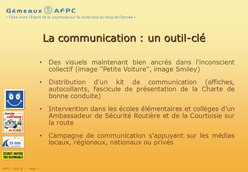 La communication : un outil-clé