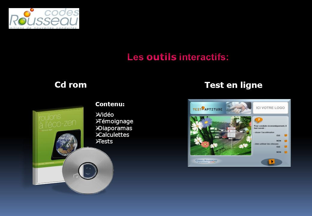 Les outils interactifs: