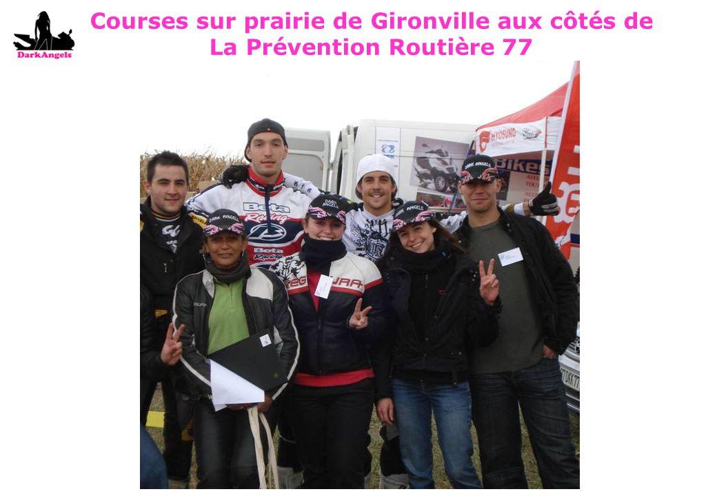 Courses sur prairie de Gironville aux côtés de La Prévention Routière 77
