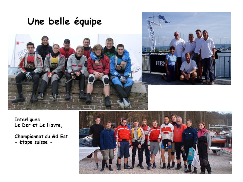 Une belle équipe Interligues Le Der et Le Havre, Championnat du Gd Est