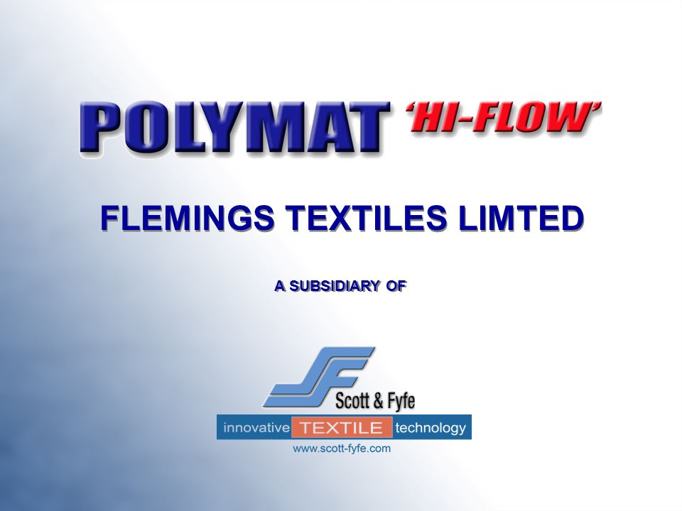 FLEMINGS TEXTILES LIMTED