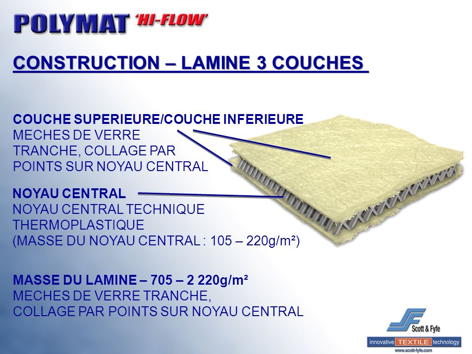 CONSTRUCTION – LAMINE 3 COUCHES
