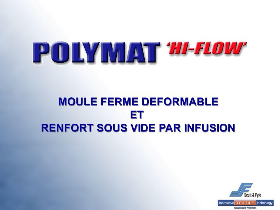 MOULE FERME DEFORMABLE RENFORT SOUS VIDE PAR INFUSION