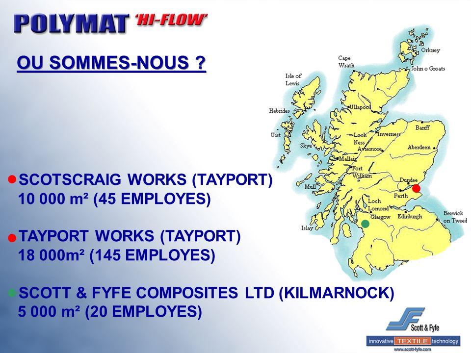 OU SOMMES-NOUS SCOTSCRAIG WORKS (TAYPORT) 10 000 m² (45 EMPLOYES)