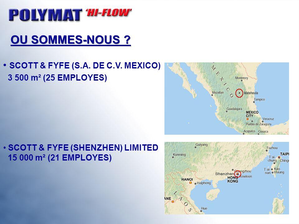 OU SOMMES-NOUS SCOTT & FYFE (S.A. DE C.V. MEXICO)