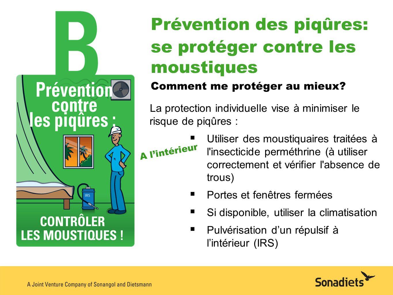 Prévention des piqûres: se protéger contre les moustiques