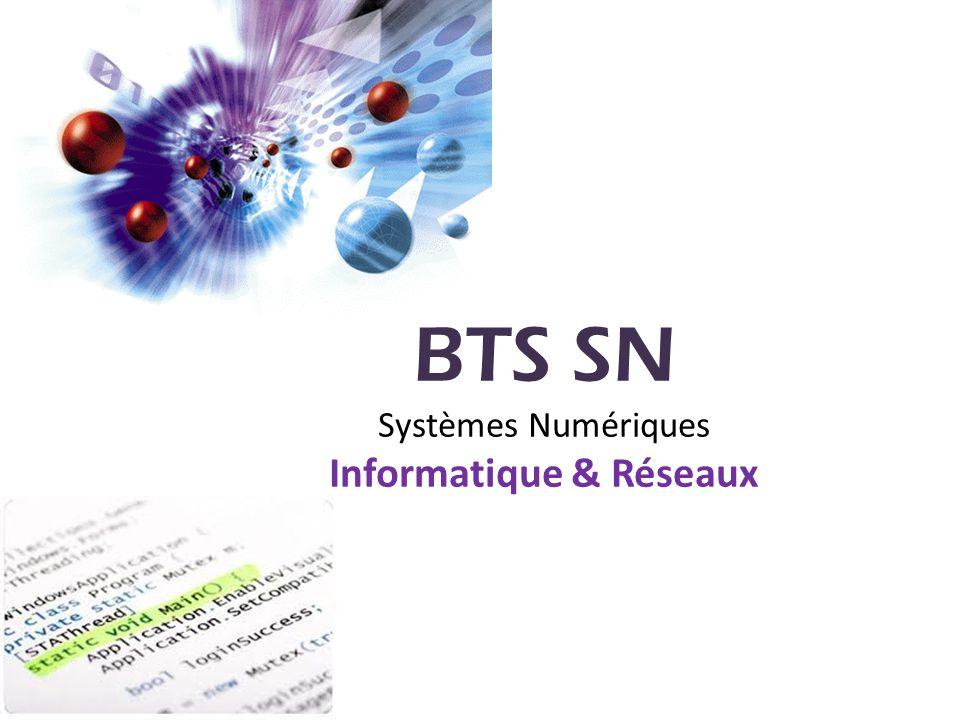 Informatique & Réseaux