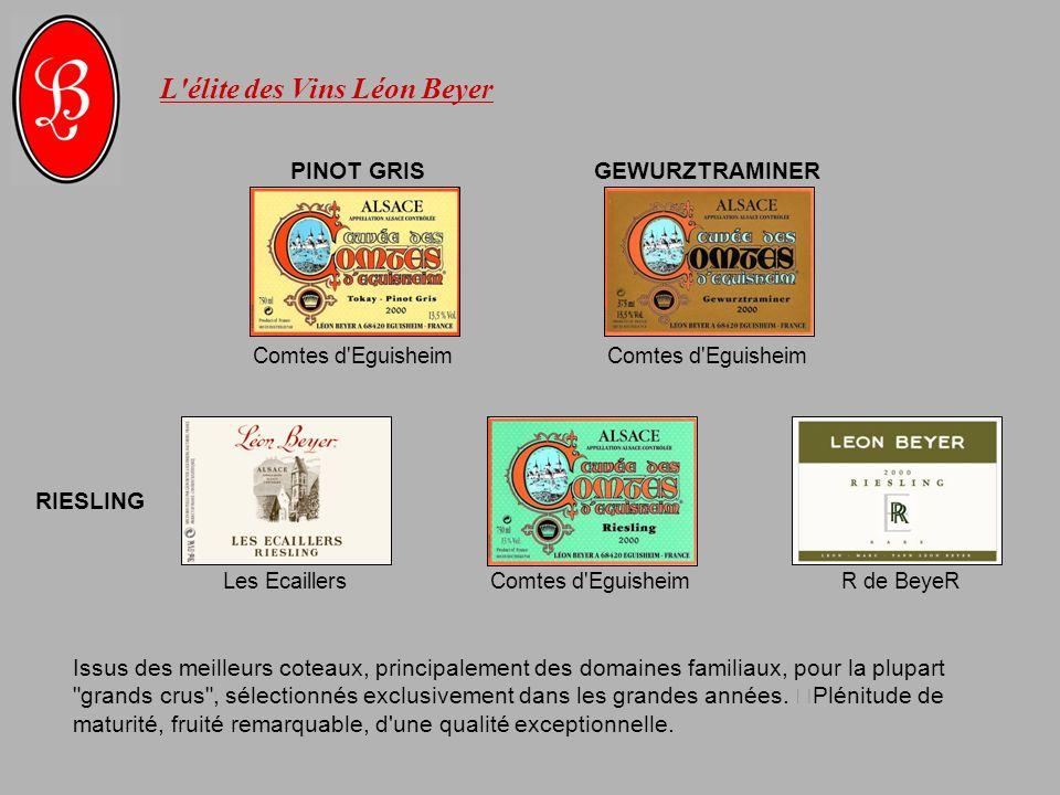 L élite des Vins Léon Beyer