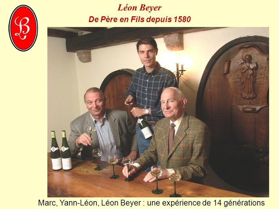 Marc, Yann-Léon, Léon Beyer : une expérience de 14 générations