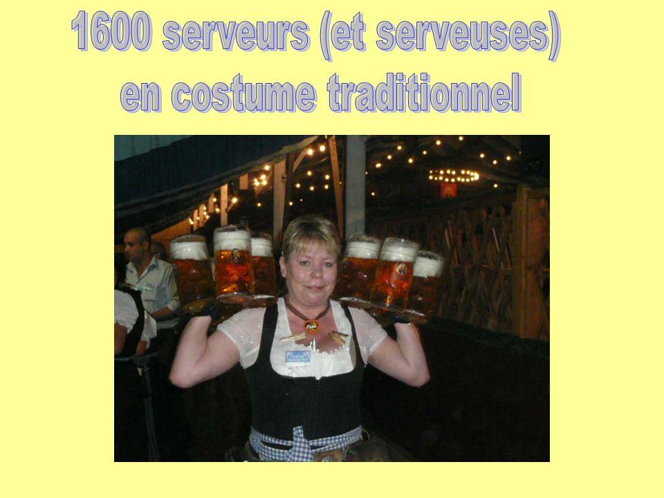 1600 serveurs (et serveuses) en costume traditionnel