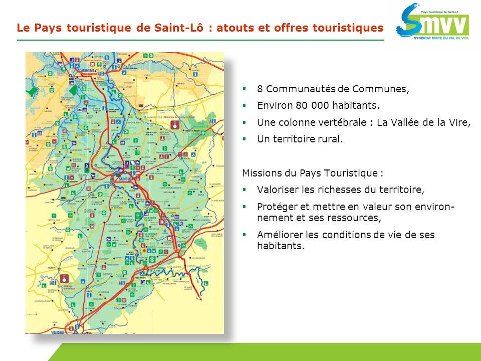 Le Pays touristique de Saint-Lô : atouts et offres touristiques